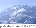 ม้าขาว,ฉากหิมะ,ภูเขาหิมะ 13071275