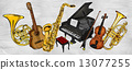 Painting Music Instruments 13077255
