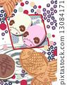 taiyaki, japanese candies, japanese confectionery 13084171