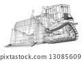 裝載機 交通工具 車 13085609