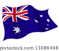 Australia Flag Country 13086408