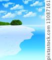 파도, 바다, 섬 13087161