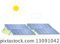 태양광 패널, 솔라 패널, 태양 전지판 13091042