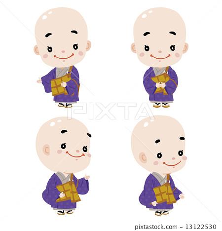 佛教高僧 禿子 僧侶 13122530
