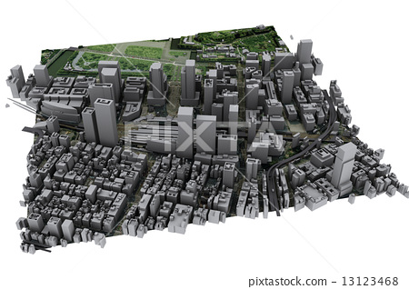 Tokyo Station Area Part 2 (3DMAP 2008 Fiscal Year) 13123468
