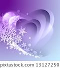 winter, vector, snowflake 13127250