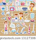 主婦 打掃 家庭主婦 13127306