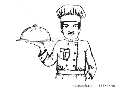 Chef  for restaurant and cafe 13131490