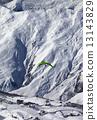 paragliding, paraglider, off-piste 13143829