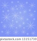 겨울, 벡터, 눈송이 13151730