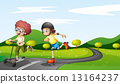 road, playing, play 13164237