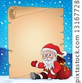Christmas topic parchment 5 13167728