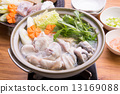煮河豚 海鲜火窝 冬之味 13169088