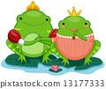 王子 公主 青蛙 13177333
