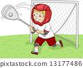 Lacrosse Goalie 13177486