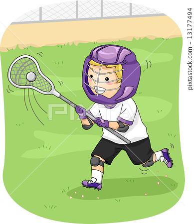 Lacrosse Player 13177494