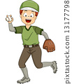 Baseball Pitcher 13177798