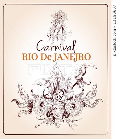 Rio carnival poster 13186667
