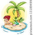 mermaid smiling island 13189499