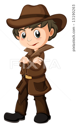 A young detective 13190263