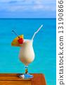 table, cocktail, beach 13190866