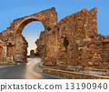 turkey, ruins, road 13190940