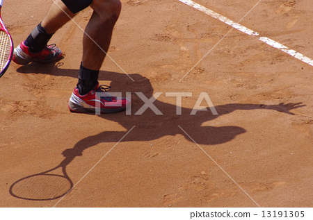 클레이 코트에서 테니스 13191305