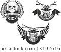 biker, logo, bike 13192616