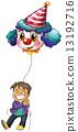 小丑 氣球 汽球 13192716