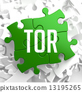 TOR on Green Puzzle. 13195265