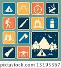 露營 營地 儀器 13195367