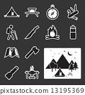 露營 營地 儀器 13195369
