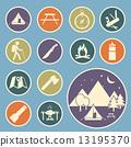 露營 營地 儀器 13195370