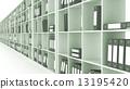 cabinet, shelf, book 13195420