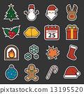 christmas icon 13195520