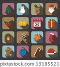 christmas icon 13195521