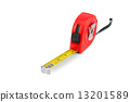 Tape measure isolated 13201589