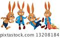 drawing character rabbit 13208184