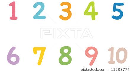 彩色数字 13208774