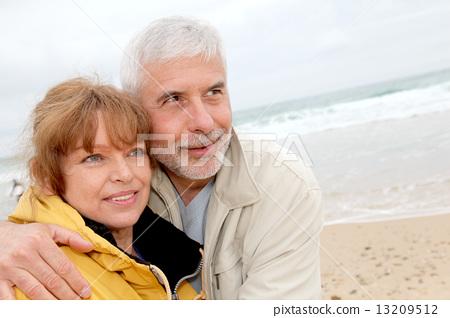 senior, couple, portrait 13209512
