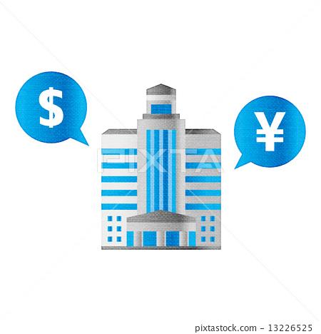 Bank $ __ dollar yen FX exchange finance 13226525