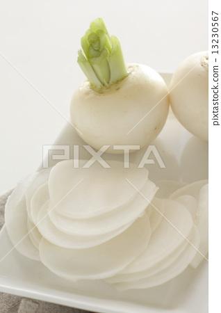 Sliced turnip 13230567