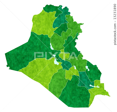Iraq map country 13231890