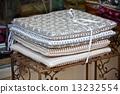 linen, pillows, chair 13232554