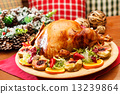 chicken, pear, turkey 13239864