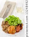蘑菇 午餐 午飯 13248492