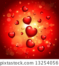 vector, valentine, glossy 13254056