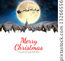 Composite image of merry christmas 13266556