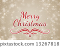 Composite image of merry christmas 13267818