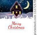 Composite image of merry christmas 13272570